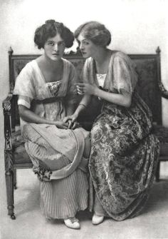 Edith and Mabel Taliaferro.