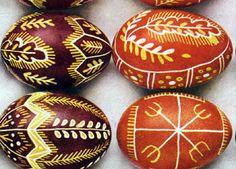 Kraslice - Czech Easter eggs