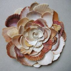 Now I know what to do with all the sea shells I've found. Darling!