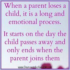 Als ouders een kind verliezen is het pas weer goed als ze bij het kind zijn