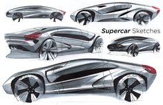 Super Car Sketches by ~Dannychhang on deviantART