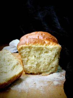 In this delicious, tender vegan olive oil brioche, aquafaba stands in for the eggs. The texture is light, feathery, and exactly as a brioche should be.