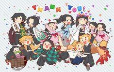鬼滅の刃 完全な作品 | 鬼滅の刃 完全な作品 無料でお試しください。本物のコミックをサポートしてください! C Anime, Anime Demon, Anime Chibi, Anime Art, Demon Slayer, Slayer Anime, Cool Cartoons, Little Babies, All Art
