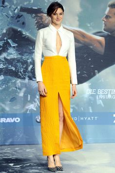 Shailene Woodley in a cut-out Emilia Wickstead gown - Insurgent premiere, Berlin – March 13 2015