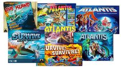 Algunes de les versions de The Island / Survive: Escape from Atlantis / Survive! Survive! / Atlantis