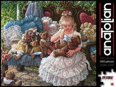 #AnatolianPuzzle 2018 Koleksiyonu | Holly'nin Ayıcıkları ref: 3270 / 260 Parça / 48x33 cm / sanatçı: Janet Kruskamp ----------------------------------------------- #AnatolianPuzzle 2018 Collection | Holly's Bears code: 3270 / 260 Pieces / 48x33 cm / by Janet Kruskamp