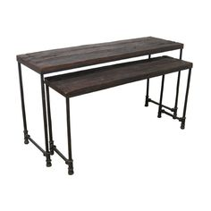 Saal Console Table - Small - Outdoor, Patio Furniture Toronto, Waterloo, Ottawa - Hauser Stores