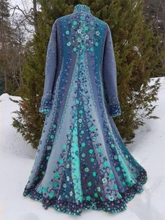 Plus Size Vintage Long Sleeve Outerwear Cape Designs, Plus Size Vintage, Coat, Types Of Sleeves, Ball Gowns, Casual, Formal Dresses, My Style, Long Sleeve