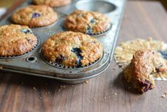 Revolutionary blueberry, cherry and hazelnut muffins are great any time. Plus they're easy to bake.