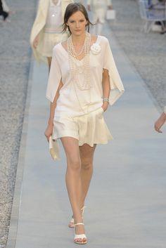Chanel Resort 2012 Fashion Show - Sara Blomqvist