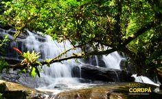 Rota das Cachoeiras em Corupá, SC