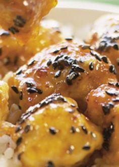 Peru em crosta com molho de mel