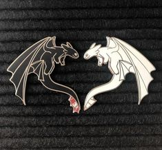 These pins are with silver plating and only are sold as a set. Current restock eta is End of June Jacket Pins, Things To Buy, Stuff To Buy, Cool Pins, Metal Pins, Toothless, Pin And Patches, How Train Your Dragon, Pin Badges
