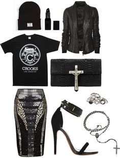 """I would do this in 5 colors and wear them in a weekly rotation, lol   """"ain't no such thing."""" by goldiloxx on Polyvore"""
