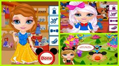 ♥ Trò chơi Barbie & Ken ♥ Chị bí đỏ giúp Baby Barbie chọn ba bộ trang ph...