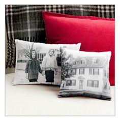 DIY Photo Pillows. Great photo Christmas Gift!