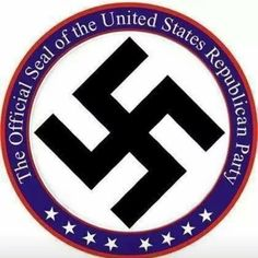 """No 2 GOP on Twitter: """"The Official Seal of Donald Trump's United States Republican Party #NeverGOP #UniteBlue #p2 https://t.co/zjPJ0g8ysL"""""""