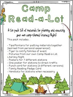 Buzzing with Ms. B: Camp Read-a-Lot
