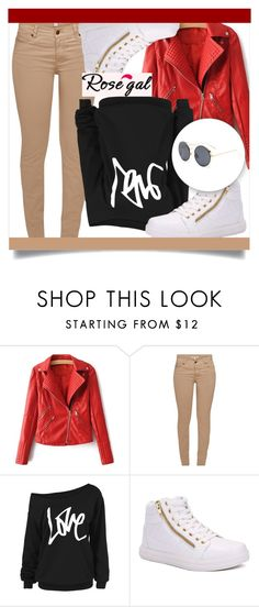 """ROSEGAL 59"" by mini-kitty ❤ liked on Polyvore featuring Barbour, outfit and rosegal"