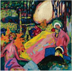 Wassily Kandinsky - I really like this artist ever since my first trip to NYC.