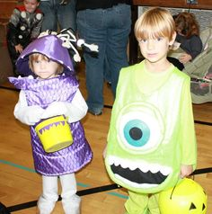 2011 Monsters Inc.: Mike and Boo