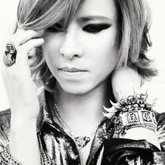 Yoshiki from the band X Japan - He auctioned off his crystal piano for the earthquake's relief efforts.