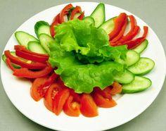 УКРАШЕНИЕ ДОМАШНИХ БЛЮД.Рецепты, пошаговые фото Овощная тарелка ♥♥♥ - Простые рецепты Овкусе.ру