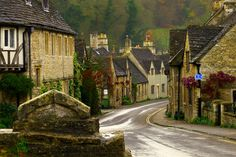 The prettiest village in England? Cosy little Castle Combe in the Cotswolds. #travel #wanderlust #europe #england #cotswolds
