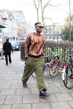 Estilo en las calles de Londres
