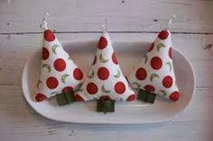 arbolitos de navidad con tela!!!!!