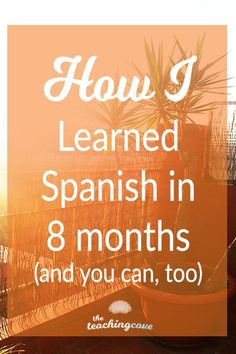 Interested in language learning or learning Spanish? Here' s how I learned Spanish in 8 months. Click the pin to read today's post and learn about my language learning strategies, and strategies to make your study abroad language learning experience bette Language Study, Spanish Language Learning, Teaching Spanish, Spanish Activities, Teaching French, German Language, Japanese Language, Sign Language, French Language