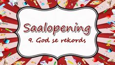 Saalopening: 9. God se rekords