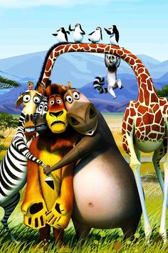 DreamWorks' Madagascar 3:Europe's Most Wanted. #Awesome movie!!