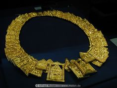 Ancient Egyptian Gold Jewelry | Gold sheet collar, Ancient Egyptian.