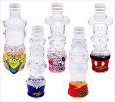 キャラクターボトルウォーター/ディズニー5種セット Water Bottle Design, Pet Bottle, Cobalt Blue, Plastic, Pets, Juices, Bottles, Bottle Design, Cobalt