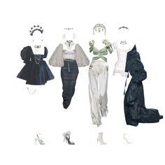 Egirl Fashion, Fashion Bella, Korean Girl Fashion, Kpop Fashion Outfits, Korean Street Fashion, Indie Outfits, Stage Outfits, Edgy Outfits, Dance Outfits