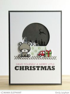 mama elephant | design blog: Believe In Magic Creative Cuts with Emily!, christmas