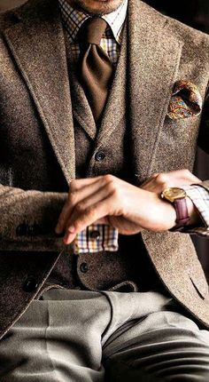 Dapper Gentleman, Gentleman Style, Sharp Dressed Man, Well Dressed Men, Mens Fashion Suits, Mens Suits, Fashion Fashion, Suits You Sir, Mode Man