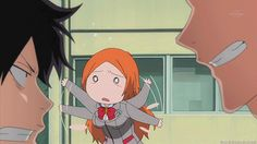 orihime being adorbs