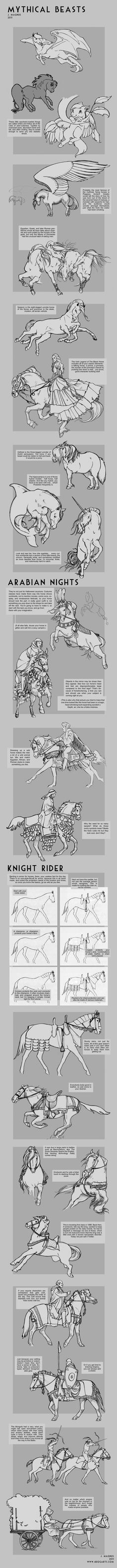 Myth +Costume Horse Tutorial by sketcherjak.deviantart.com on @deviantART