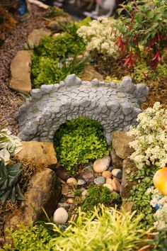 If you like Fairy Gardens, here are some very creative gardens for you to see. Enjoy!                                                    ...