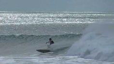 Surfing timelapse at Whakatane Heads.