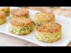 Crispy Parmesan Quinoa Cakes – Fifteen Spatulas