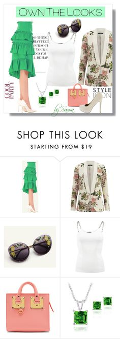 """""""OwnTheLooks"""" by samra-dzabija ❤ liked on Polyvore featuring VILA, Alexander Wang, Sophie Hulme, Glitzy Rocks and ownthelooks"""