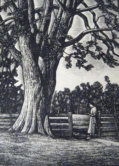 J.J. Lankes, wood engraving