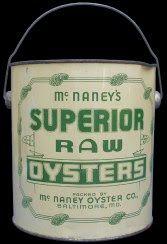 Mc Naney Oyster Co., Baltimore, MD