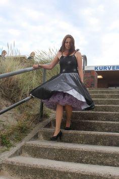 Ladies Fashion, Women's Fashion, Petticoats, Feminine Style, No Frills, Underwear, Slip On, Lingerie, Silk