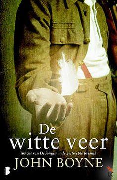 """Boek """"De witte veer"""" van John Boyne   ISBN: 9789022560204, verschenen: 2011, aantal paginas: 318"""