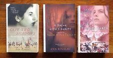 3 Historical Novels For Teens by Ann Rinaldi Paperbacks U.S. Revolution Salem