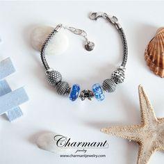 Sì, qual è il più profondo, il più impenetrabile dei due? L'oceano o il cuore umano? www.charmantjewelry.com  #beads #braccialecomponibile #mare #oceano #ancora #charmant